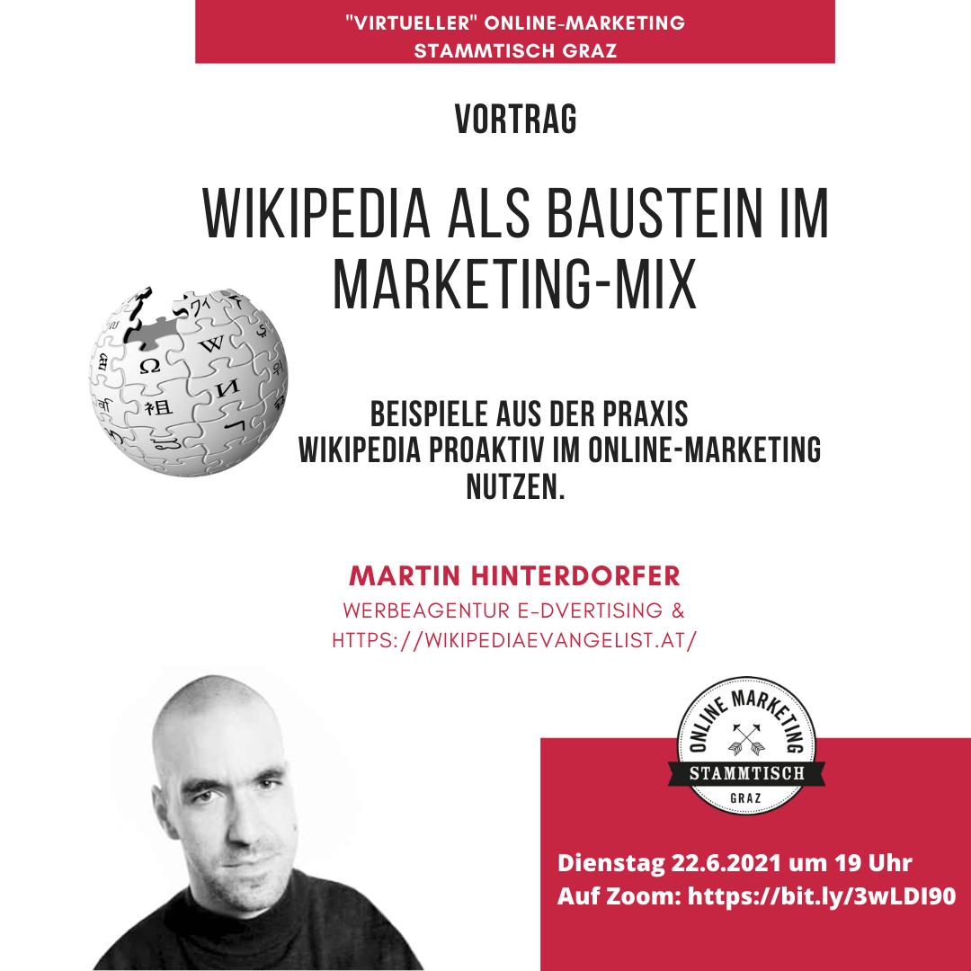 Wikipedia als Baustein im Marketing-Mix - Beispiele aus der Praxis - Wikipedia proaktiv im Online-Marketing nutzen.